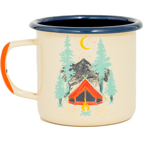 United By Blue Tent Dreams Enamel Steel Mug 355ml Tan